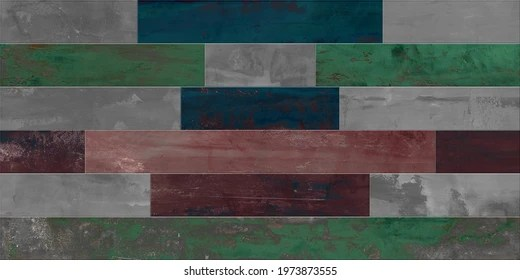 https www shutterstock com image illustration digital multicolor wall tile design rustic 1973873555