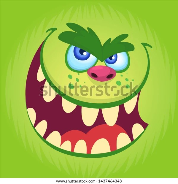 Halloween Illustration Goblin Troll Illustration Troll Stock