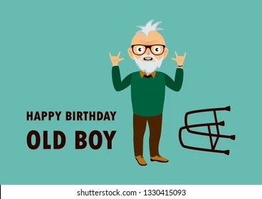 Old Man Birthday Images Stock Photos Vectors Shutterstock