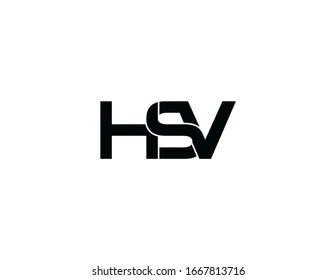 https www shutterstock com image illustration hsv original monogram logo design 1667813716