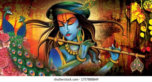 God Krishna Images Stock Photos Vectors Shutterstock