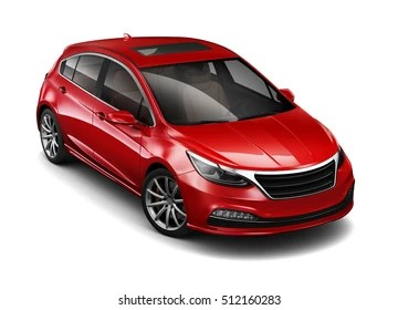 3d Car Images  Stock Photos   Vectors  10  Off    Shutterstock Red compact car   3D render on white