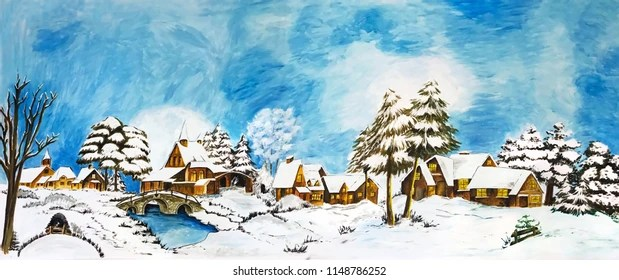 Image result for holiday snow scenes