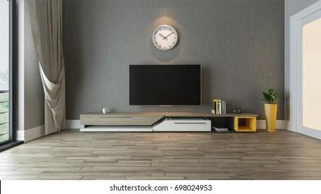 https www shutterstock com image illustration tv stand plant room decor idea 698024953