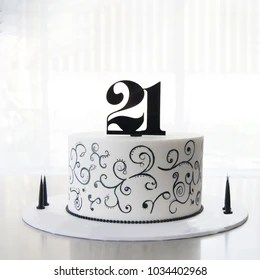 21st Birthday Cake Images Stock Photos Vectors Shutterstock
