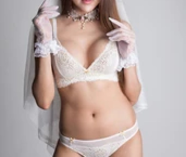 Beautiful Sexy Asian Woman In Lace Lingerie Bridal Concepts Bridal Lingerie