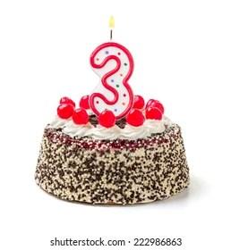 Birthday Cake 3 Year Images Stock Photos Vectors Shutterstock