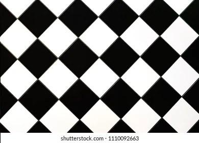 https www shutterstock com image photo black white checkered floor tiles texture 1110092663