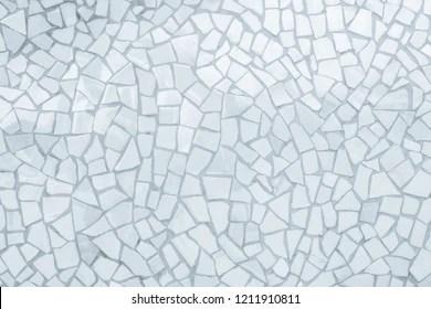 https www shutterstock com image photo broken tiles mosaic seamless pattern white 1211910811
