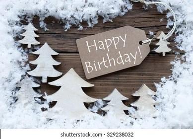 Happy Birthday Winter Images Stock Photos Vectors Shutterstock