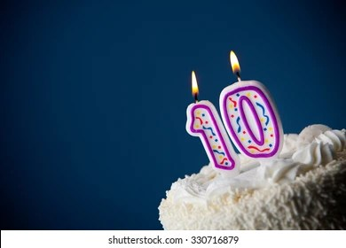 10th Birthday Cake Images Stock Photos Vectors Shutterstock