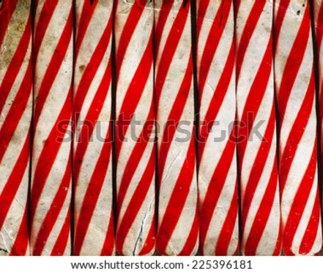 Candy Cane Background Christmas Background With Candie Cane Texture Retro New Year Theme