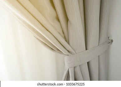 https www shutterstock com image photo close view window curtain 1033675225