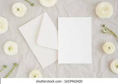 https www shutterstock com image photo elegant blank paper stationery photo mockup 1619962420