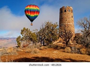hot air balloon grand canyon # 35