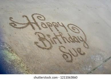 Happy Birthday Sue Images Stock Photos Vectors Shutterstock