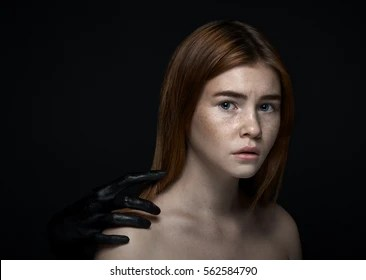 Scared Girl Images, Stock Photos & Vectors | Shutterstock