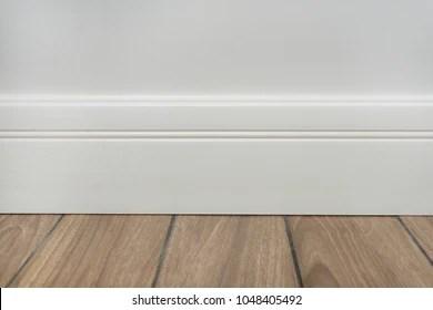 https www shutterstock com image photo light matte wall white baseboard tiles 1048405492