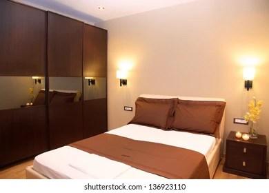 https www shutterstock com image photo modern bedroom luxury apartment 136923110