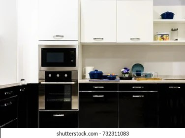 https www shutterstock com image photo modern kitchen furniture contemporary kitchenware like 732311083