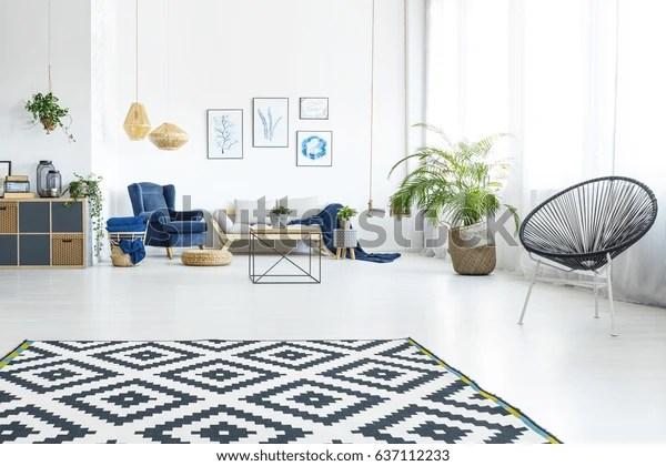 https www shutterstock com fr image photo modern living room sofa round chair 637112233