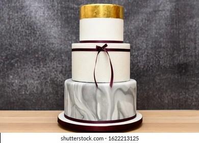Three Tier Cake Images Stock Photos Vectors Shutterstock