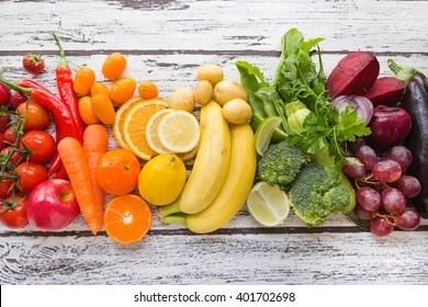 colorful, food, rainbow, chakra balancing