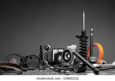 Car Parts Images  Stock Photos   Vectors  10  Off    Shutterstock New car parts on a gray background