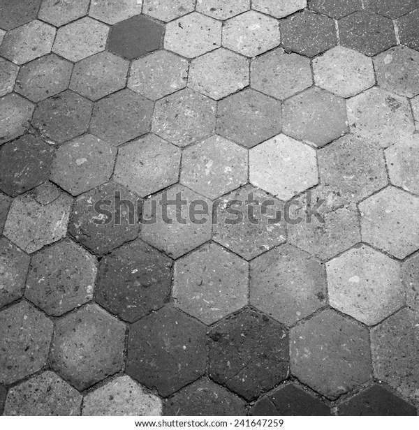 https www shutterstock com image photo old terracotta tile floor honeycomb pattern 241647259