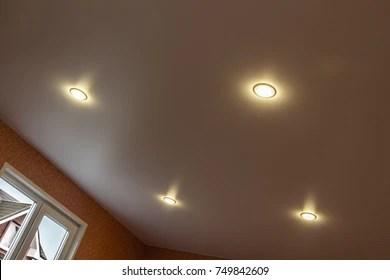 https www shutterstock com image photo part room tension white ceiling built 749842609