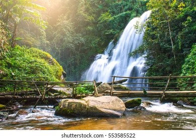 Nature Wallpaper Images  Stock Photos   Vectors   Shutterstock Pha dok siew waterfall in deep forest Chiang Mai Thailand