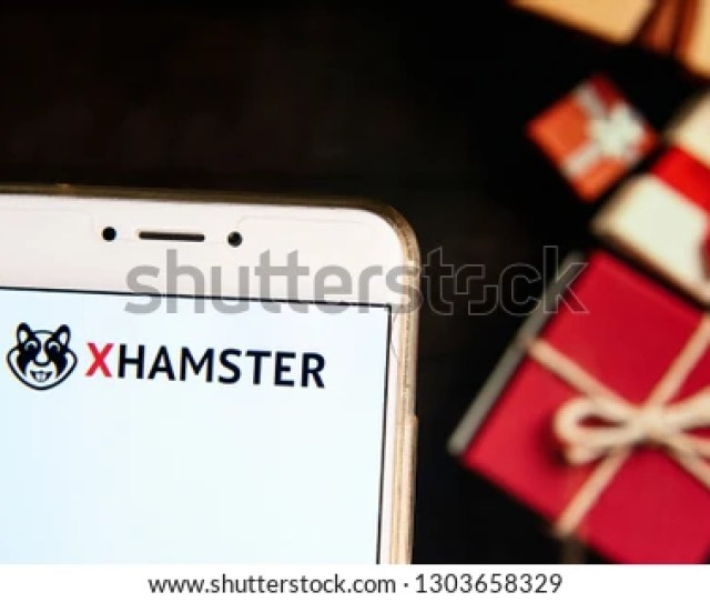 Pornographic Video Sharing Site Xhamster Logo Is Seen On An Android Mobile Device With A Christmas