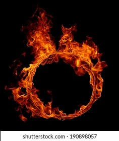 Circle Fire Images Stock Photos Vectors Shutterstock