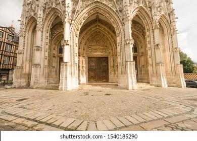 https www shutterstock com image photo rouen france october 09 2019 towerless 1540185290