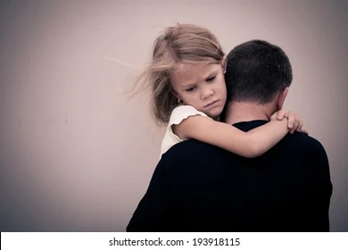 Father Daughter Sad Images Stock Photos Vectors Shutterstock