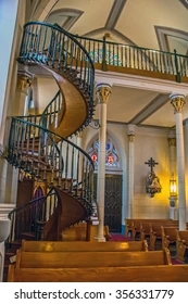 Loretto Chapel Images Stock Photos Vectors Shutterstock | Spiral Staircase Loretto Chapel | St Joseph | Immaculate | Gothic | Dangerous | Medieval