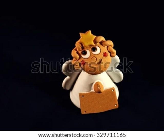 Small Ceramic Angel Christmas Decorations