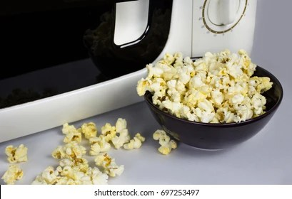 soft butter popcorn after cooking