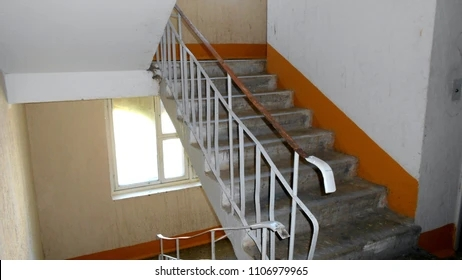 Stairs Inside Home Images Stock Photos Vectors Shutterstock | Inside Home Stairs Design | Light | Small Place | Trendy Home | Low Cost | Drawing Room