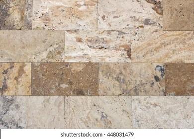 https www shutterstock com image photo travertine tile brick building material color 448031479