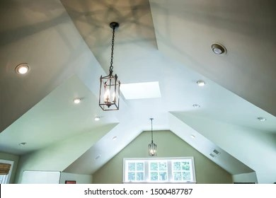 https www shutterstock com image photo vaulted ceiling modern gothic mid evil 1500487787
