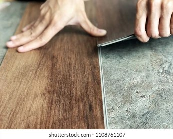 https www shutterstock com image photo vinyl tile collection laying wood on 1108761107