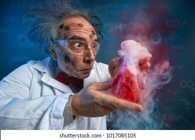 Image result for LUCKY BUSINESS/ISTOCKPHOTO) mad scientist