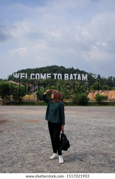 Welcome Batam Batam Island Indonesia August Stock Photo Edit Now 1517021903