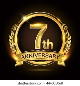 7th Anniversary Images Stock Photos Amp Vectors Shutterstock