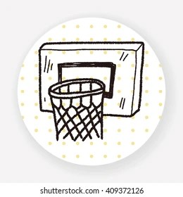 Basketball Hoop Drawing Images Stock Photos Vectors Shutterstock