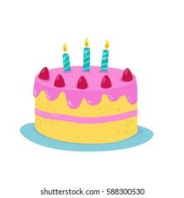 Cake Cartoon Hd Stock Images Shutterstock
