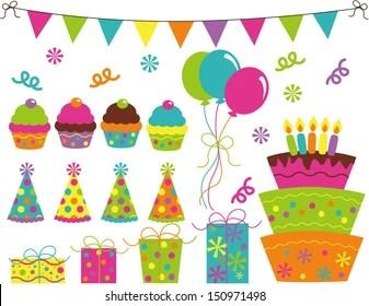 Birthday Balloons Clipart Images Stock Photos Vectors Shutterstock