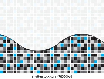 https www shutterstock com image vector black toned mosaic abstract business background 78350068