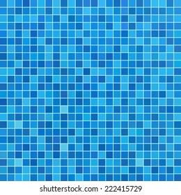 https www shutterstock com image vector blue ceramic tile mosaic swimming pool 222415729